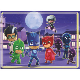 PUZZLE 60PZ PJ MASK GLOW IN THE DARK