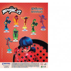 LADY BUG 2D SUCTION CUP