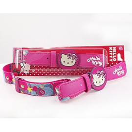 CINTURA HELLO KITTY IN TESSUTO ELASTICO
