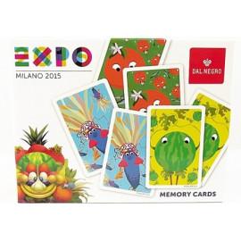 GIOCO MEMORY CARDS EXPO 2015 DAL NEGRO