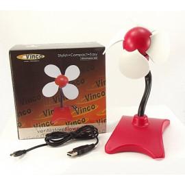 VENTILATORE FLOWER USB