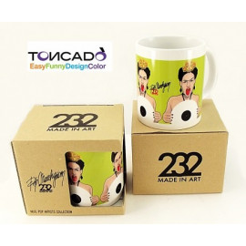 TAZZA POP ARTISTS FRIDA KAHLO TONCADO