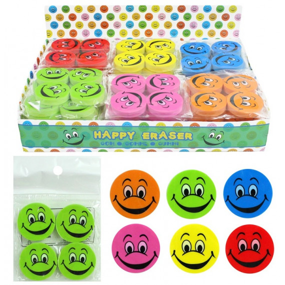 GOMMA SMILE COLOR 25X4mm