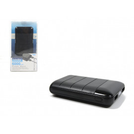 POWER BANK 6000mAh C 2 ATTACCHI USB