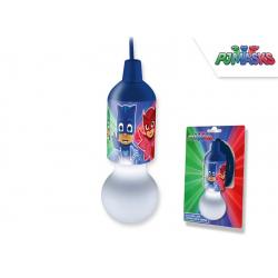 LAMPADINA CON FILO PJ MASK 16 cm