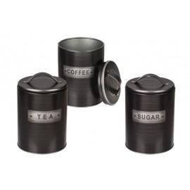 CONTENITORE IN METALLO 3 MOD COFFEE-TEA