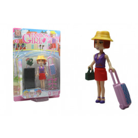 BAMBOLA FASHION GIRL 5 pz 10 cm