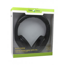CUFFIA BLUETOOTH TEK-ONE MX333