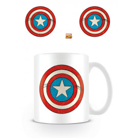 TAZZA CAPITAN AMERICA MARVEL COMICS