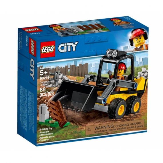 LEGO CITY RUSPA DA CANTIERE